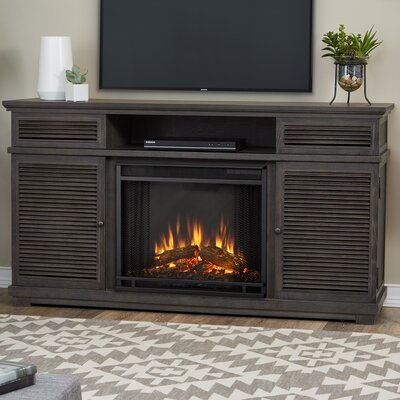 Cavallo 59 TV Stand and Fireplace Finish: Gray