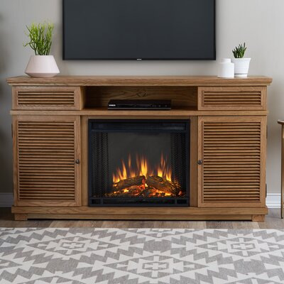 Cavallo 59 TV Stand and Fireplace Finish: Elm