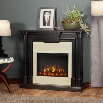 Maxwell Electric Fireplace 7030E-BW