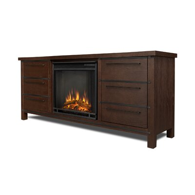 Parsons Electric Fireplace Finish: Chestnut Oak