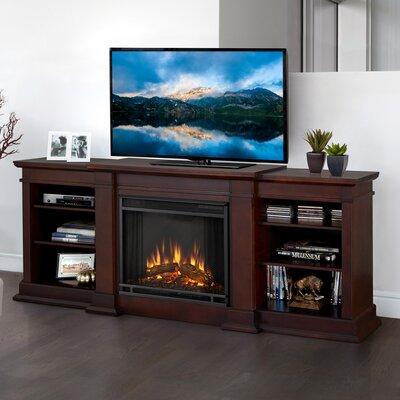 Fresno 72 TV Stand with Fireplace Finish: Dark Walnut