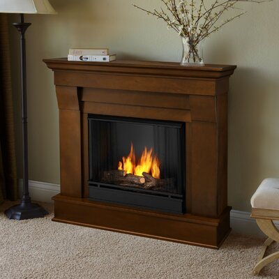 Chateau Gel Fireplace Finish: Espresso