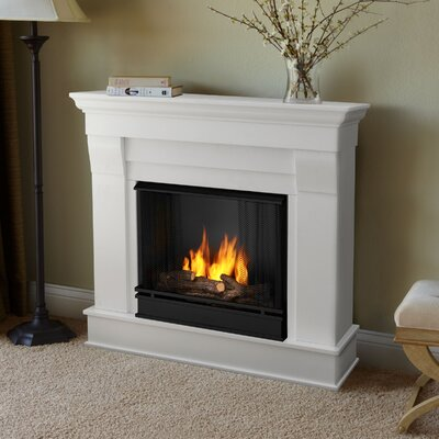 Chateau Gel Fuel Fireplace Finish: White