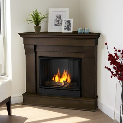 Real Flame 5950-DW Electric and Gel Fuel Fireplaces