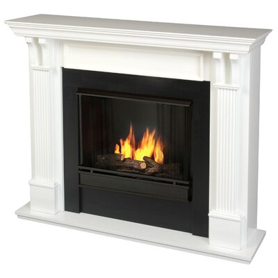 Ashley Gel Fuel Fireplace Finish: White