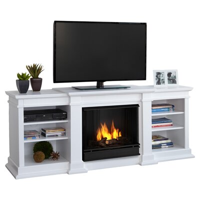 "Fresno 72"" TV Stand Fireplace"