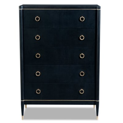 Davenport 5 Drawer Standard Chest
