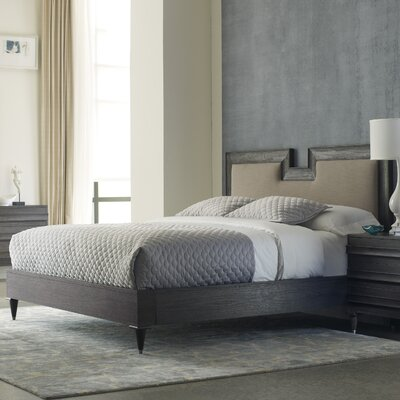 Logan Upholstered Panel Bed Size: California King