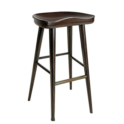 Balboa 31 inch Bar Stool Finish: Midnight
