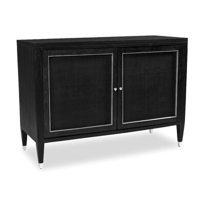 Atherton Bar Cabinet Finish: Onyx