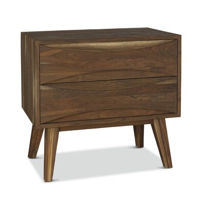 Crawford 2 Drawer Nightstand