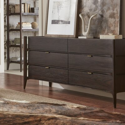 Emerson 6 Drawer Double Dresser
