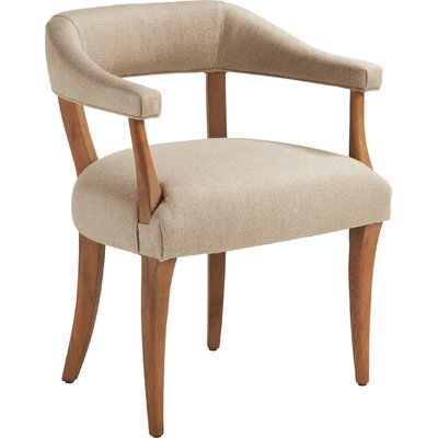 Ibiza Upholstered Dining Chair Finish: Natural Oak