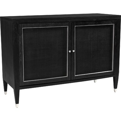Atherton Bar Cabinet Color: Onyx