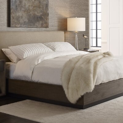 Baldwin Upholstered Panel Bed Size: California King