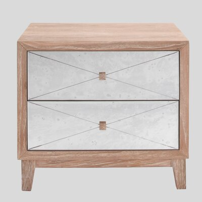 Financing Carlyle 2 Drawer Nightstand...