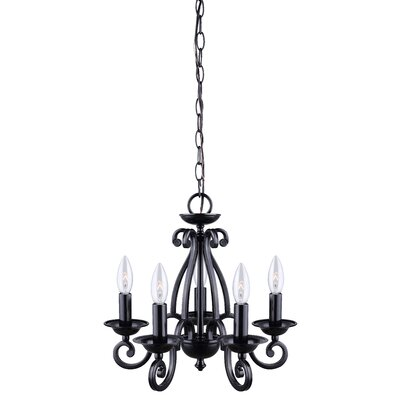 Charlotte 5-Light Candle-Style Chandelier