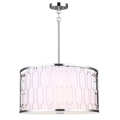 Layten 3-Light Drum Chandelier