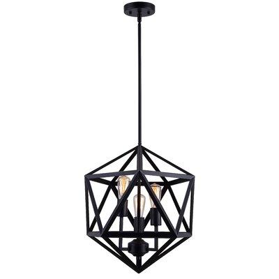 Fitch 3-Light Geometric Pendant