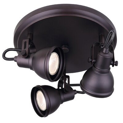 Polo 3-Light Directional & Spotlight Finish: Oil Rubbed Bronze