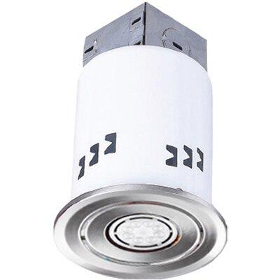 3.63 LED Recessed Lighting Kit Trim Finish: Brushed Nickel