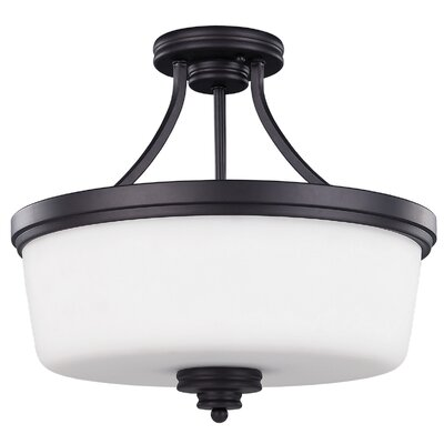 Jackson 3-Light Semi-Flush Mount
