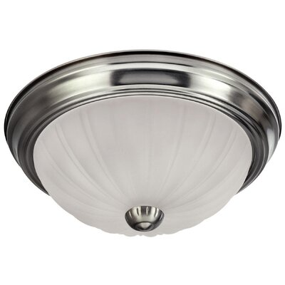 ES Flush Mount Finish: Brushed Pewter
