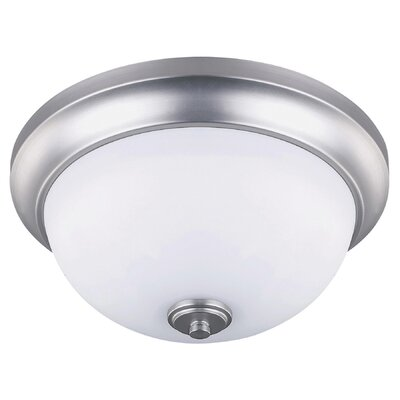 New Yorker 2-Light Flush Mount