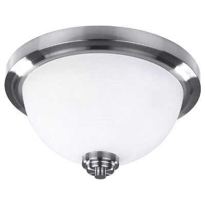 Portia 2-Light Flush Mount