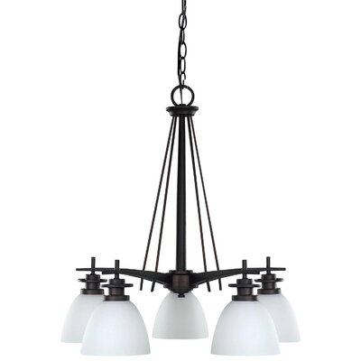 New Yorker 5-Light Shaded Chandelier