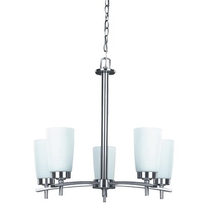 Portia 5-Light Shaded Chandelier