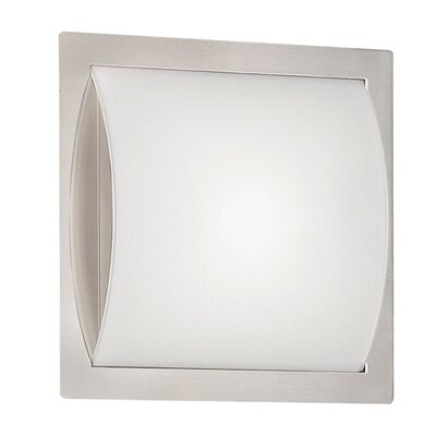1-Light Flush Mount Size: 15