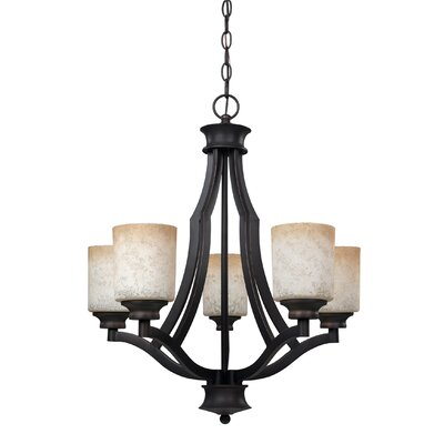 Warren 5-Light Shaded Chandelier