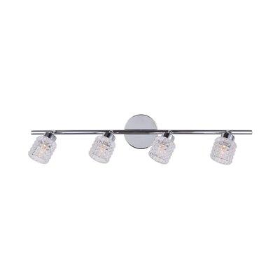 Geneva 4-Light Full Track Lighting Kit