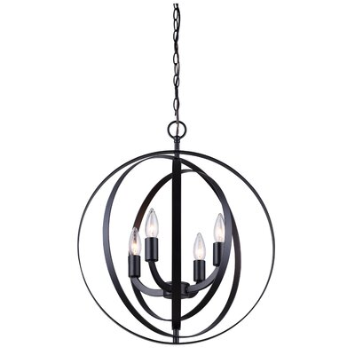 Dan 4-Light Mini Chandelier