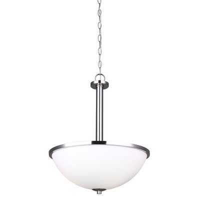 Mcphail 3-Light Bowl Pendant Finish: Oil Rubbed Bronze