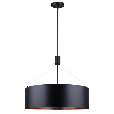 Troxel 5-Light Drum Pendant