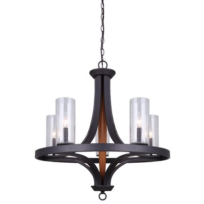 Cathi 5-Light Candle-Style Chandelier