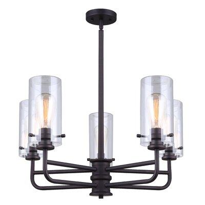 Dayna 5-Light Candle-Style Chandelier