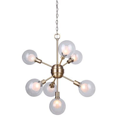 Zelie 7-Light Sputnik Chandelier