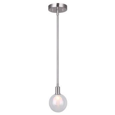 Poitras 1-Light Globe Pendant