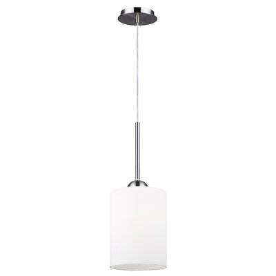 Mcphail 1-Light Drum Pendant Finish: Brushed Nickel