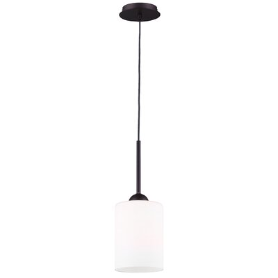 Mcphail 1-Light Drum Pendant Finish: Oil Rubbed Bronze
