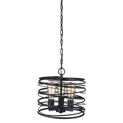 Ussery 3-Light Geometric Pendant