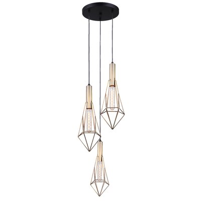 Filemyr 3-Light Cluster Pendant