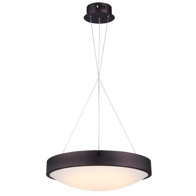 Quayle LED Drum Pendant Finish: Oil Rubbed Bronze
