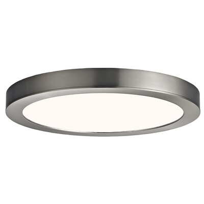 Pedraza Flush Mount Fixture Finish: Brushed Nickel