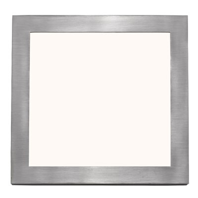 Peebles Flush Mount Fixture Finish: Brushed Nickel