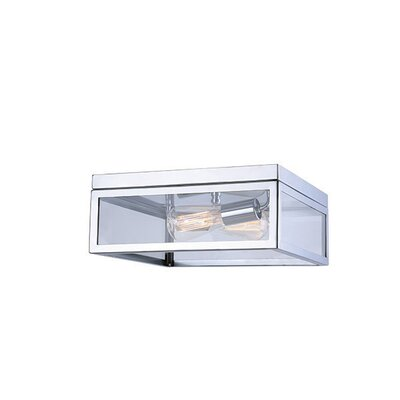 Oksana 2-Light Flush Mount