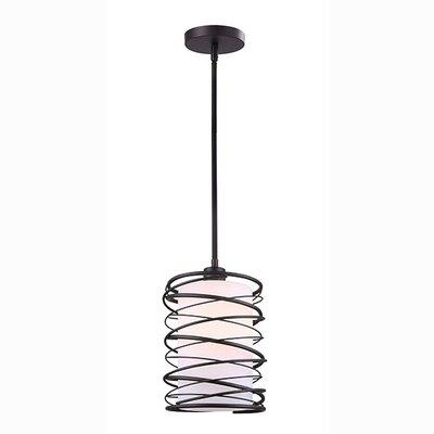 Rowell 1-Light Drum Pendant